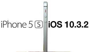 iPhone 5S iOS 10.3.2 Review! -