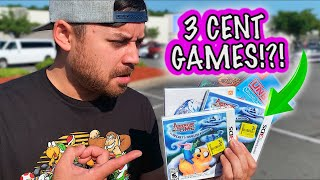 Walmart had games...FOR 3 CENTS!!! (Live Video Game Hunting) || $10 Dollar Collection (Ep:21)