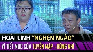 Hoài Linh, Phi Nhung, Thanh Hằng nghẹn ngào rơi lệ vì Tuyền Mập, Dũng Nhí