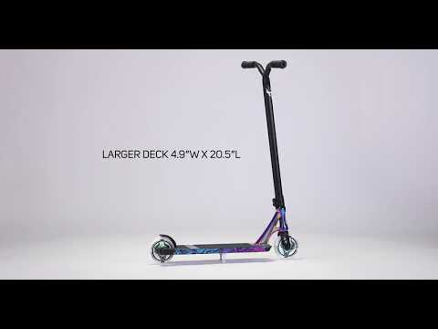 Video BLUNT Trottinette freestyle KOS S6 Charge