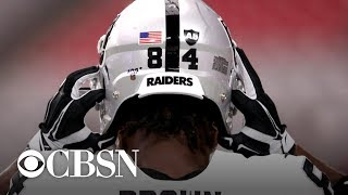 "Raiders GM on Antonio Brown helmet controversy: time ""to be all in or all out"""
