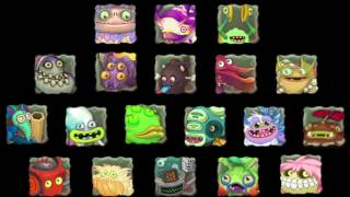 My Singing Monsters - Wublin Memory Game (All Monster Sounds)
