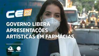 Governo libera apresentações artísticas em farmácias e supermercados