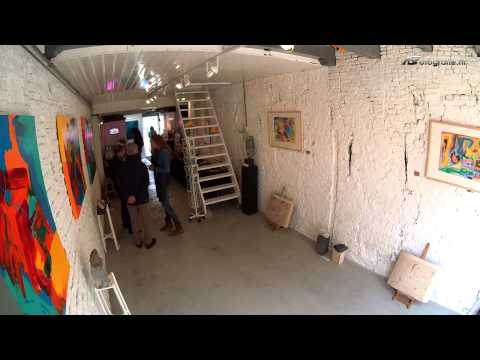Time-lapse Open Atelier 2014 bij Sandra de Graaf
