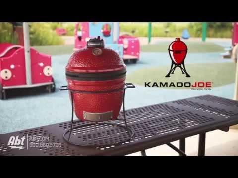 Kamado Joe 13.5 Joe Jr. Red Ceramic Grill KJ13RH - Overview
