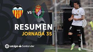 Resumen de Valencia CF vs Real Valladolid (3-0)