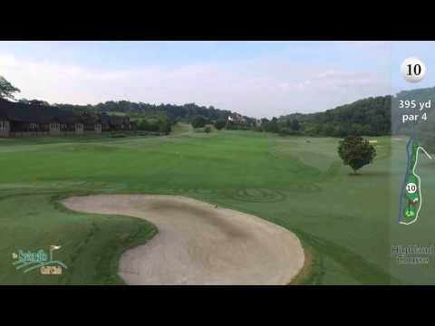 Servierville Golf Course Aerial View Demo