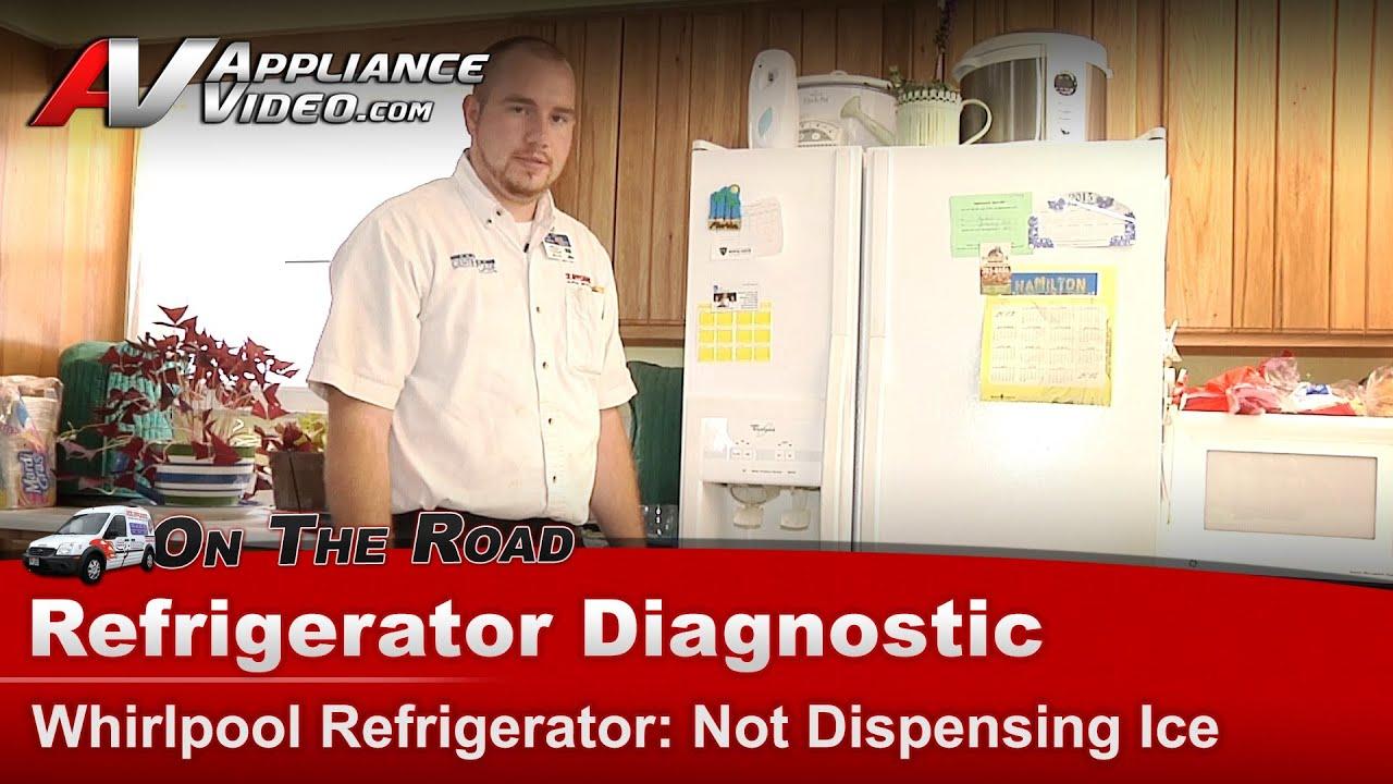 Whirlpool Maytag Refrigerator Diagnostic Amp Repair Ice