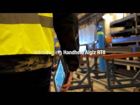 Watch the Algiz RT8 ultra-rugged tablet at work