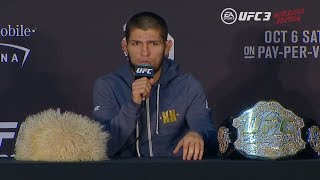 UFC 229: Post-fight Press Conference