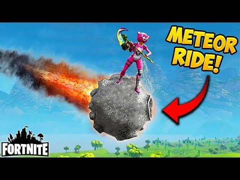 RIDING A METEOR? (FIRST EVER) - Fortnite Funny Fails and WTF Moments! #181 (Daily Moments)