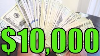 COUNTING $10,000 DOLLARS CASH | 52 WEEK MONEY CHALLENGE IN 1 MONTH! 💰YON WORLD