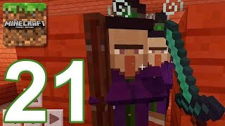 Minecraft: PE - Gameplay Walkthrough Part 21 - Cobblestone Island (iOS, Android)