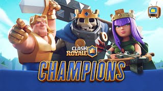 Clash Royale CHAMPIONS UPDATE! ⚔️ NEW RARITY, LEVEL 14, & MORE! ⚔️ (TV Royale)
