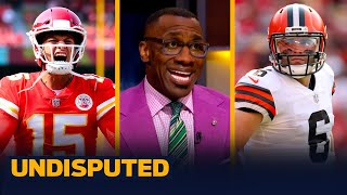 Chiefs comeback win over Baker's Browns, Harrison ejection — Skip & Shannon | NFL | UNDISPUTED