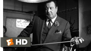 The Hustler (1/5) Movie CLIP - Like He's Playing the Violin (1961) HD