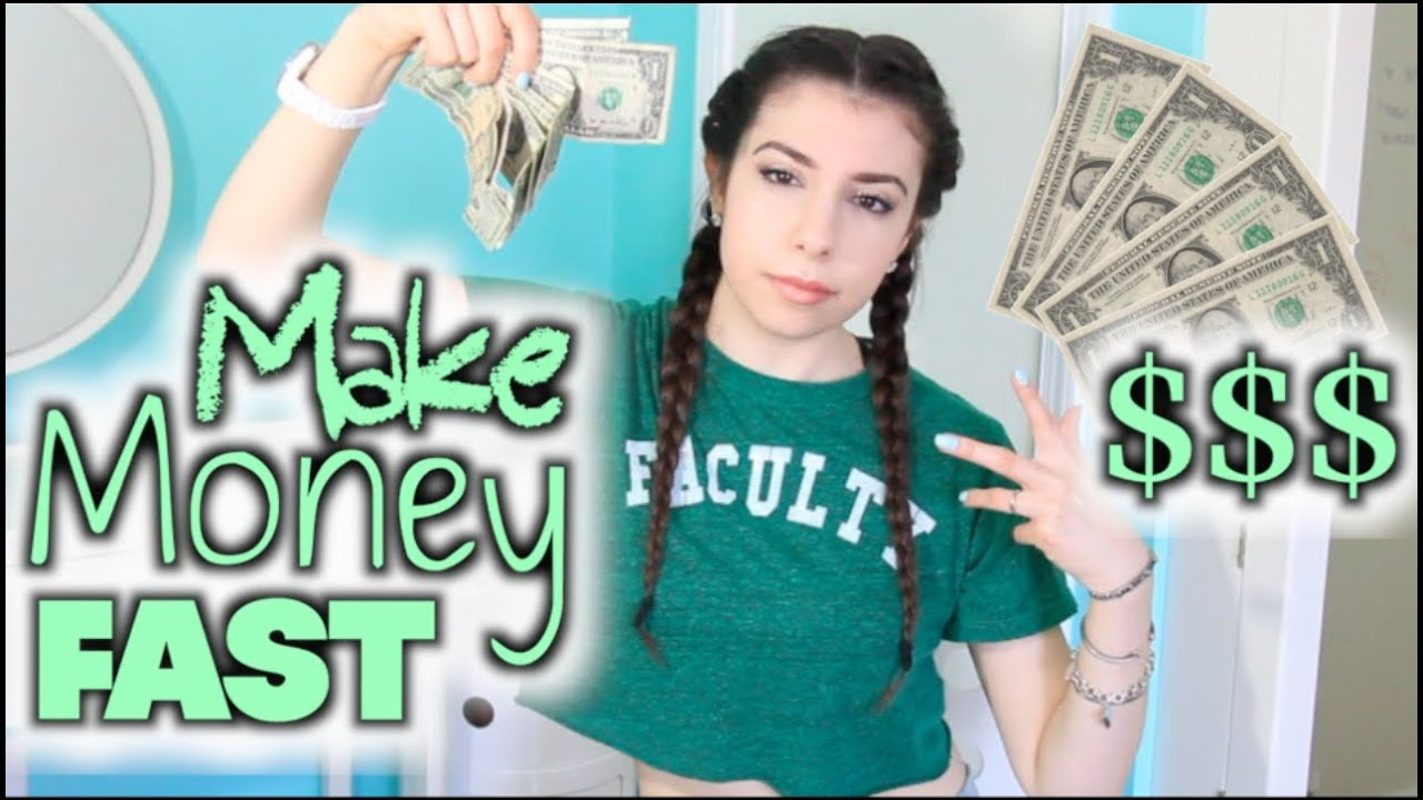 How To Make Money Fast As A Teenager Amp Kid Youtube
