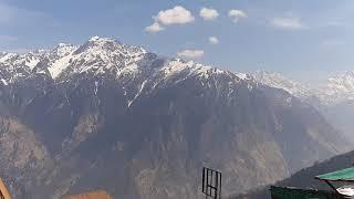 Auli Uttarakhand amazing view