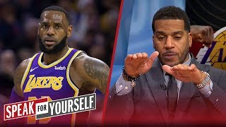 Jim Jackson reacts to LeBron saying his playoff intensity is 'activated' | NBA | SPEAK FOR YOURSELF
