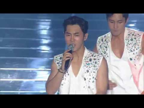 SHINHWA신화 T.O.P+Perfect man+Hey come on『WE SHINHWA』Live