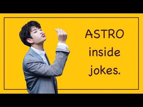 astro inside jokes aroha knows.