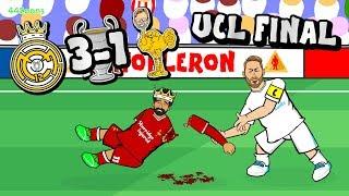🏆RAMOS ATTACKS SALAH!🏆 Bale goal! Real Madrid vs Liverpool Champions League Final 2018! Highlights