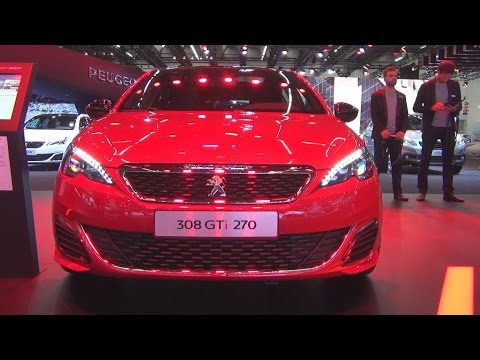 Peugeot 308 GTi THP 270 S&S Ultimate Red (2016) Exterior and Interior in 3D