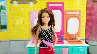 Barbie Hermanas Skipper Tocador y Lava Manos Mi Casita Juguetes y Sorpresas