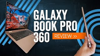 Samsung Galaxy Book Pro 360 Review: Slim, Prim ... And Dim