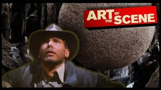Raiders of The Lost Ark's Boulder – Art of the Scene