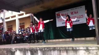 Cover dance by 12A1 THPT Kỳ Anh(Ném gạch bang fb)