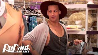 Roxxxy Asks Her Fellow Queens for Shoe Advice | RuPaul's Drag Race All Stars (Season 2) | Logo