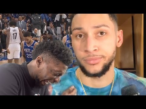 SIMMONS GETS BOOED BY HIS OWN FANS! SIXERS vs NETS 2019 PLAYOFFS GAME 1 & 2 HIGHLIGHTS