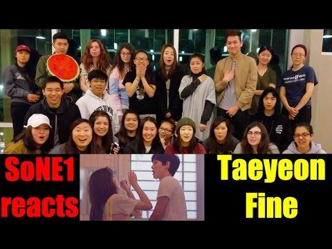 Taeyeon (태연) - Fine M/V Reaction by SoNE1