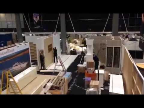 Exhibition Stand Construction at LYJAPCS 2015