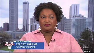"Stacey Abrams Says New Voting Bills ""Should Be Concerning To Everyone"" 