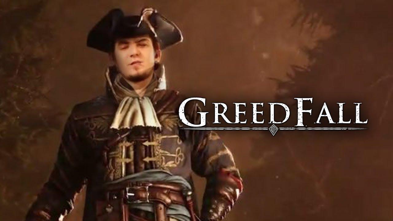 мэддисон играет в Greedfall петр первый и его огненная шпага
