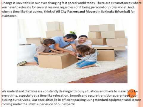 Introducing All City Packers and Movers Sakinaka (Mumbai) – Open For Business