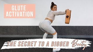 The Secret To GROWING Your GLUTES! Glute Activation Exercises