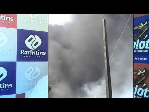 Incêndio na Amazonas Energia de Parintins