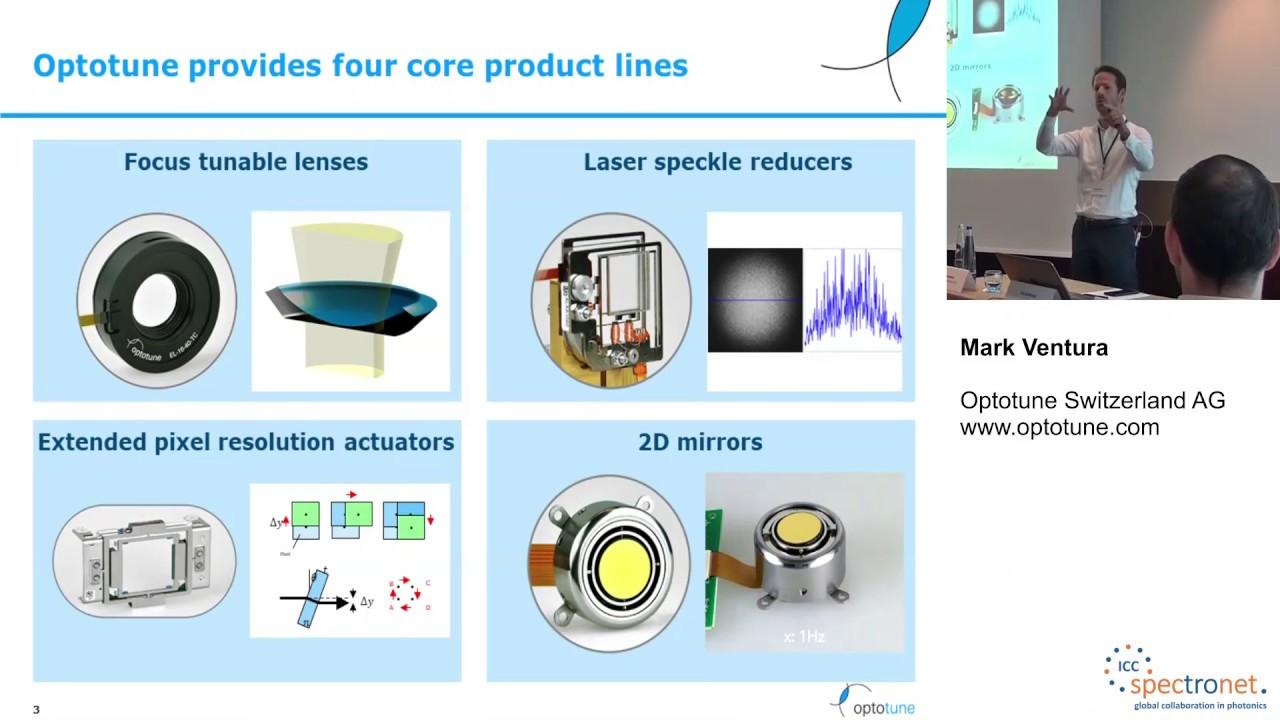 Flüssiglinsen und deren Integration in OEM Systeme - Technologieforum Bildverarbeitung 2019