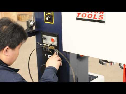 Bolton Tools - VS-400 - Vertical Metal Cutting Band saw