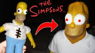 (ACTUALLY WORKED!) DONT MAKE A HOMER SIMPSONS VOODOO DOLL at 3AM | SUMMONING HOMER SIMPSONS AT 3AM