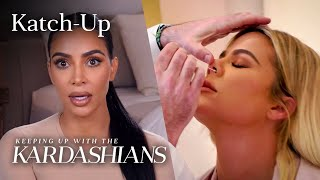 "Khloé Kardashian Has Coronavirus: ""KUWTK"" Katch-Up (S19, Ep6) | E!"