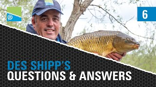 Video thumbnail for The Des Shipp Q&A - Episode SIX! Preston Innovations Match Fishing Videos