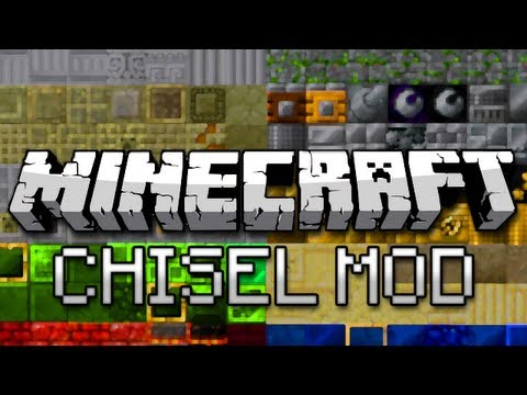 Minecraft: New Blocks Galore! (Chisel Mod Showcase) - Smashpipe Games