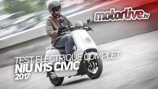 L'essai du Niu N1S par Motor Live