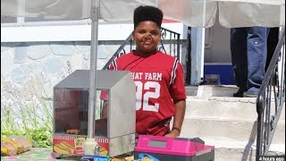 Someone Called The Cops On A Kid Selling Hot Dogs, But It Didn't Go Like They Hoped