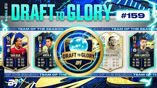TOTS CANCELO IN ANOTHER CRAZY FUT DRAFT! | FIFA 21 DRAFT TO GLORY #159