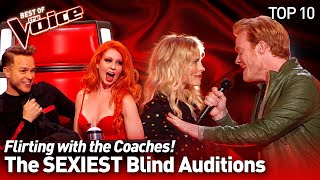 The SEXIEST Blind Auditions on The Voice | Top 10